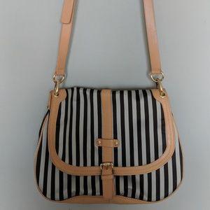 Henri Bendel Striped Crossbody Bag